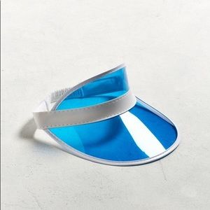 Accessories - Urban outfitters Clear Blue Visor